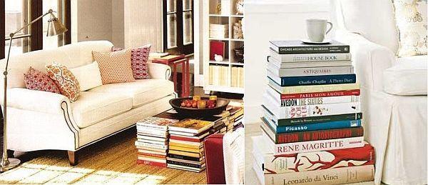 Creative Ways To Display Books Without A Bookshelf
