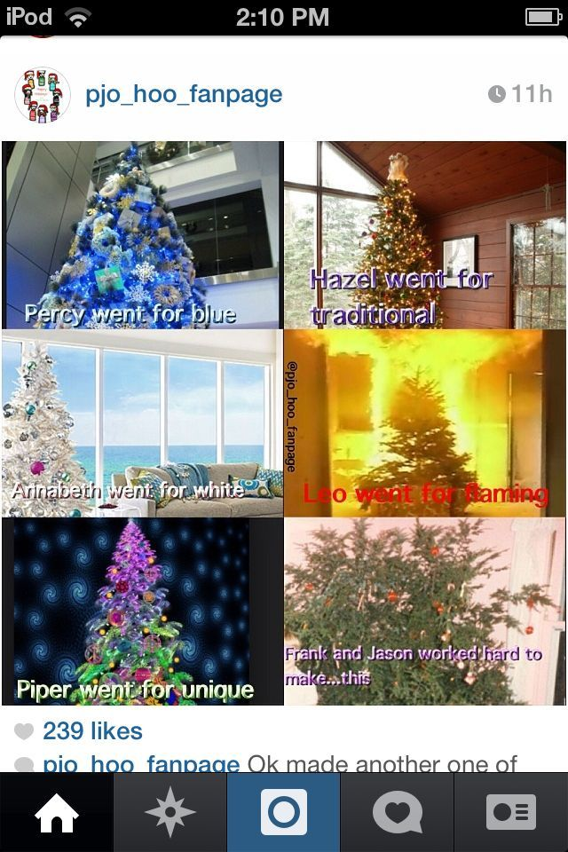 Percabeth Christmas