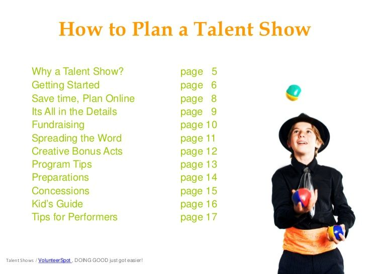 This Score Sheet For Talent Show Humor Has Space To Record
