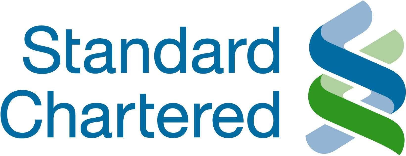 Standard chartered banks logo vector logo bank