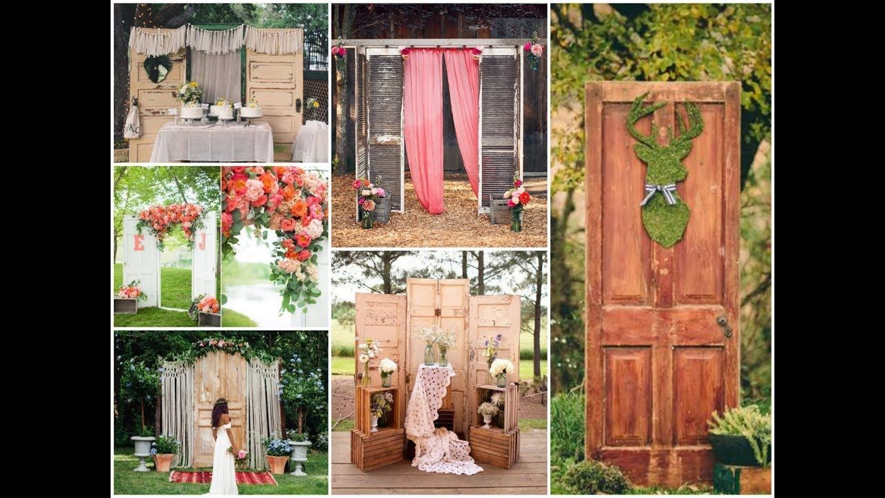 50 Creative Ways To Use Old Door For Wedding Decorating