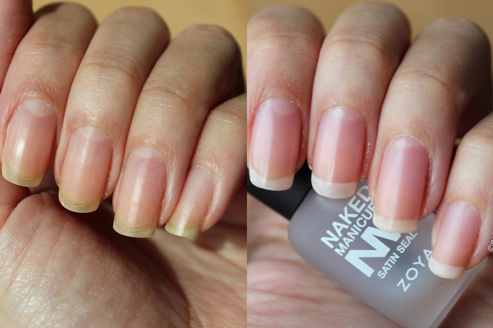Polished Polyglot Zoya NAKED MANICURE No Polish