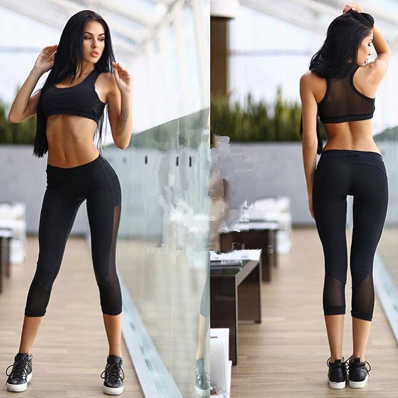 Sports Bra & Brief Sets women socks tights leggings high ...