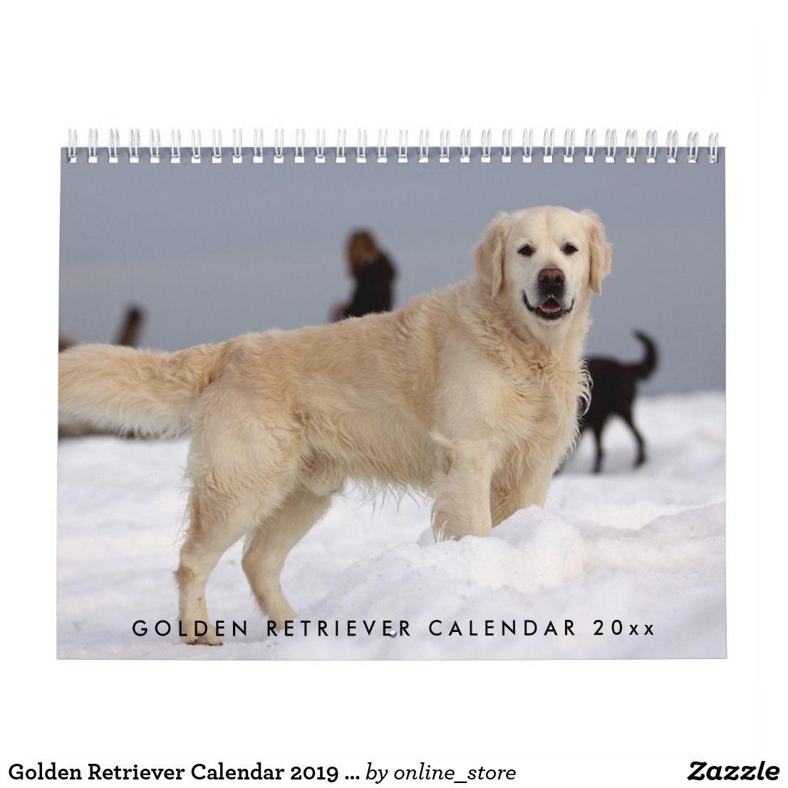 Golden Retriever Calendar 2020 With Your Photos Zazzle Com
