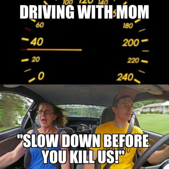 Slow Down You Drive Like A Maniac Lol Driving Humor Memes