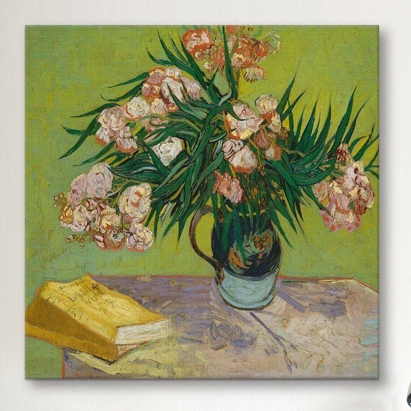 NEW 24x36 POSTER VAN GOGH ART PRINT Oleanders Vase