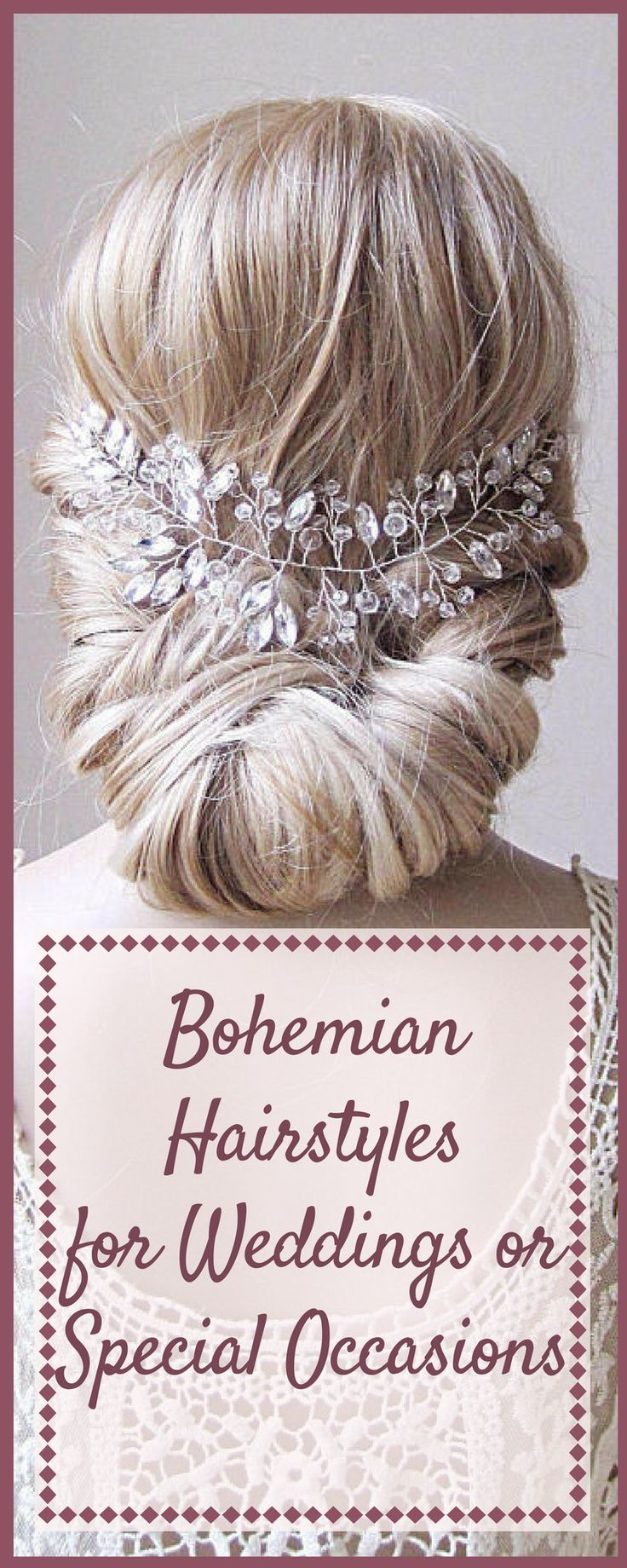 Beautiful bohemian boho hairstyles that are perfect for weddings