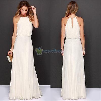 41553131d86d Sexy Women Summer Boho Long Maxi Evening Party Dress Beach Dresses Sundress  S-XL