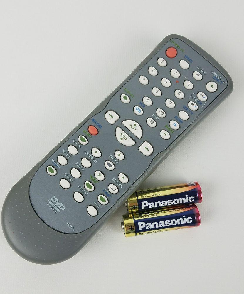 MAGNAVOX FUNAI NB179 DVD VHS Combo MWD2205 MWD2206 GDV228MG9 Remote
