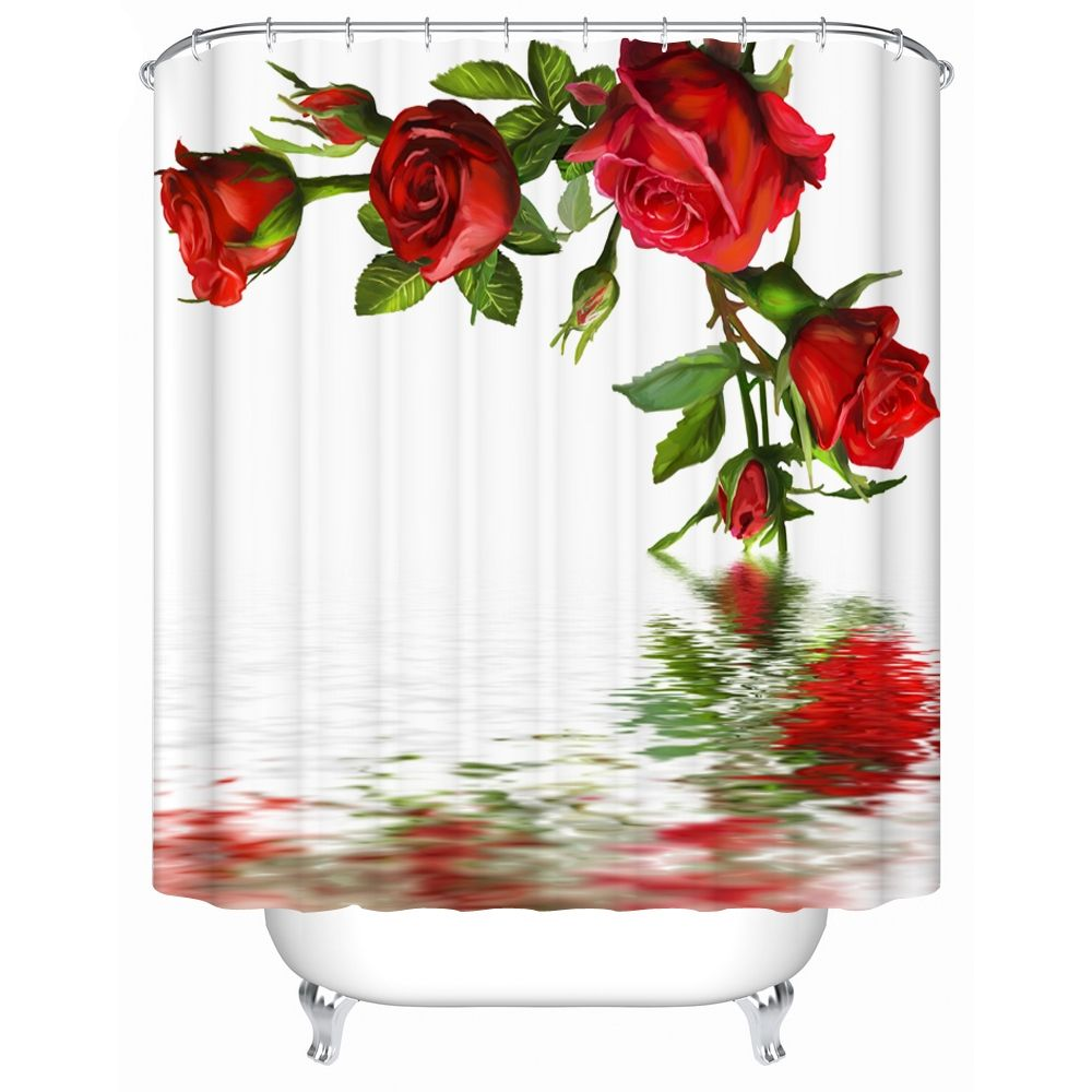 Exceptional Red Rose Bathroom Accessories
