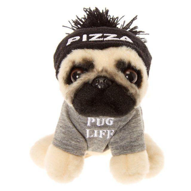 Doug the Pug© Small Pug Life Plush Toy  2e54b69b58b