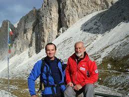 Almo Giambisi guida alpina, gestore del Rifugio Antermoia  #rifugitrentino #antermoia #catinaccio #dolomiti