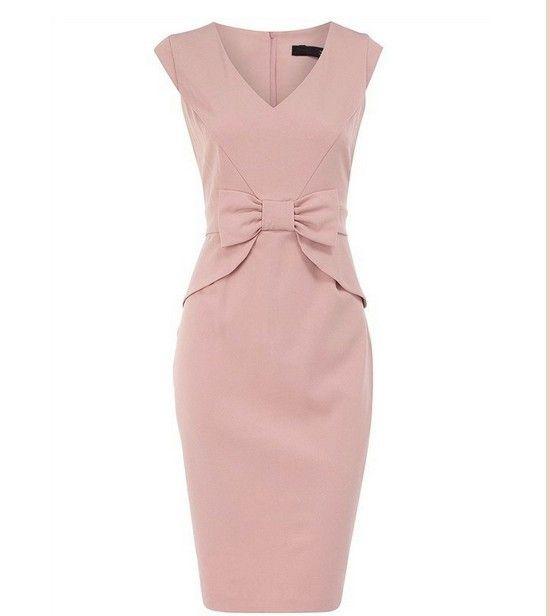 Wholesale fomal dress office ladies wear-in Dresses