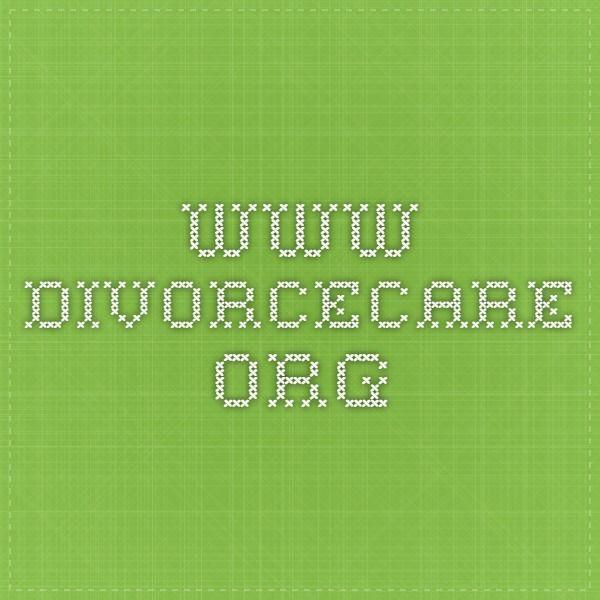 Divorcecare org