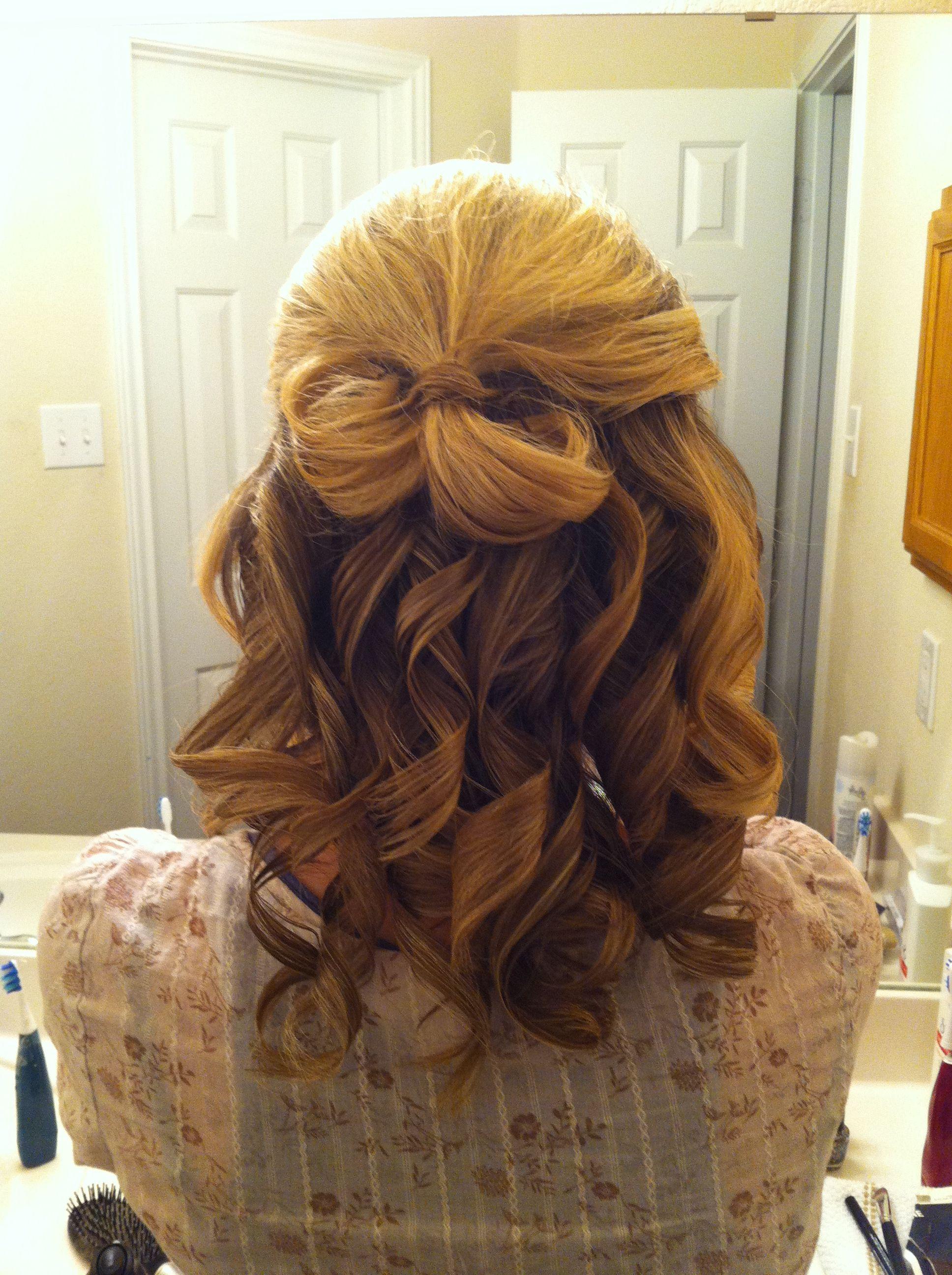 Curly prom hair curls formal hair hair style pinterest
