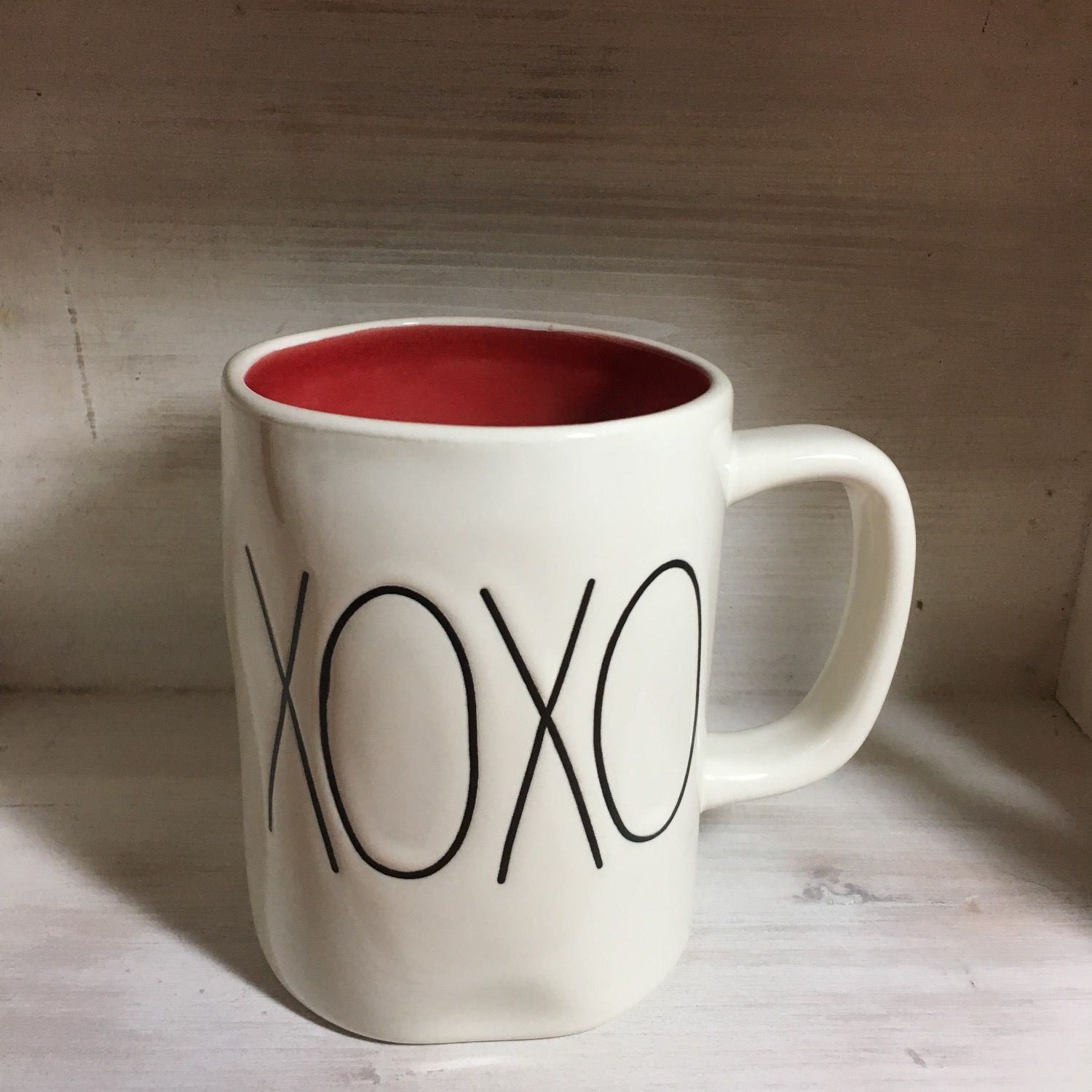 Rae Dunn Xoxo Red Interior Mug Rae Dunn For Sale Pinterest