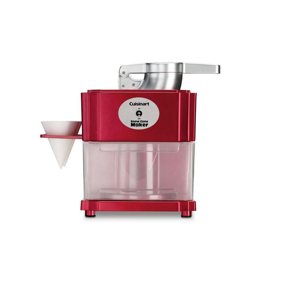Red Cuisinart SCM-10 Snow Cone Maker