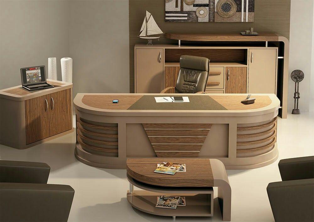 Pin By Ebrahim On Is Yeri Mobilyalari Luxury Office Furniture Office Table Design Modern Office Furniture Desk
