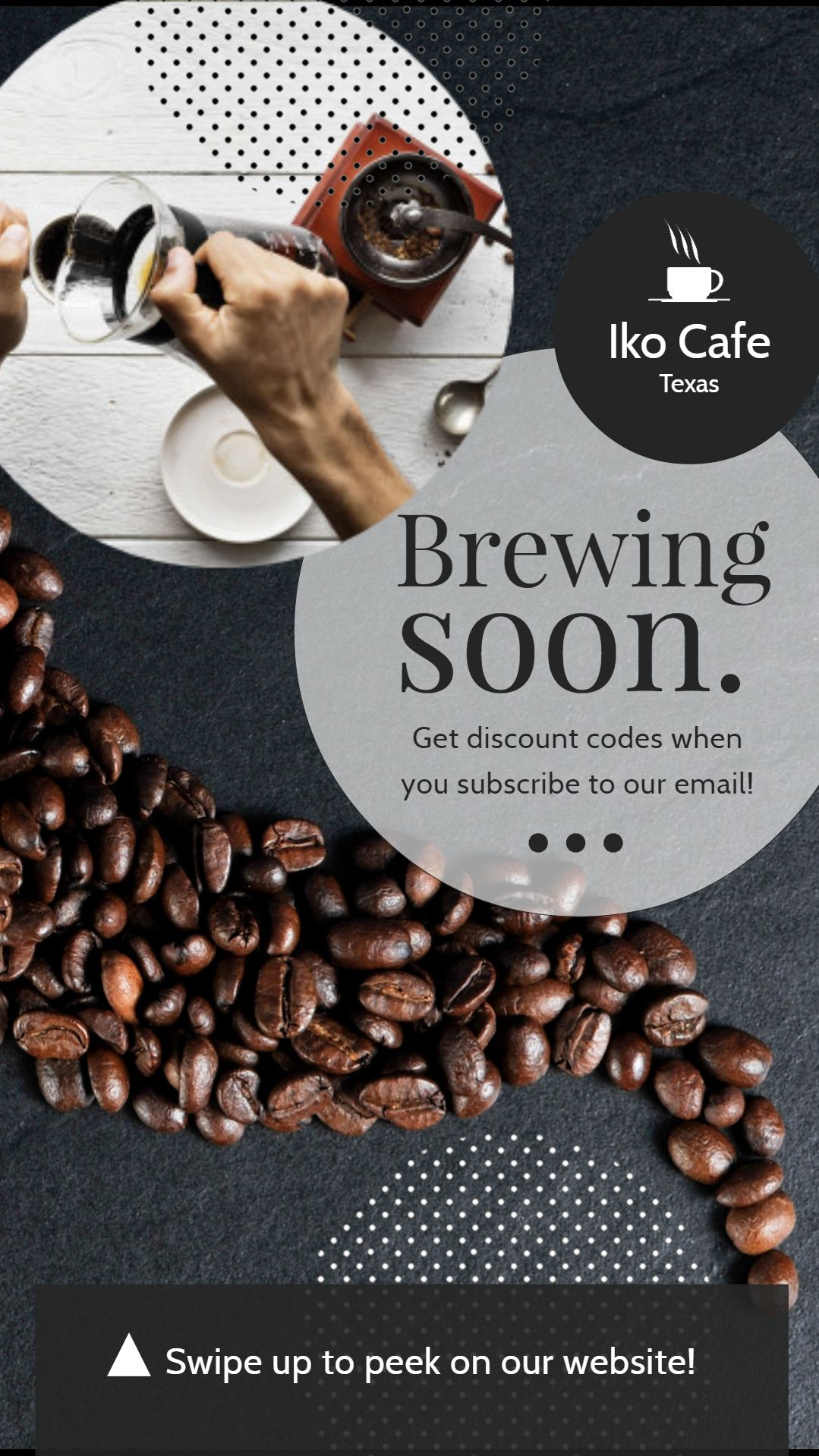 Coffee Menu Flyer Template | PosterMyWall |New Coffee Shop Flyer