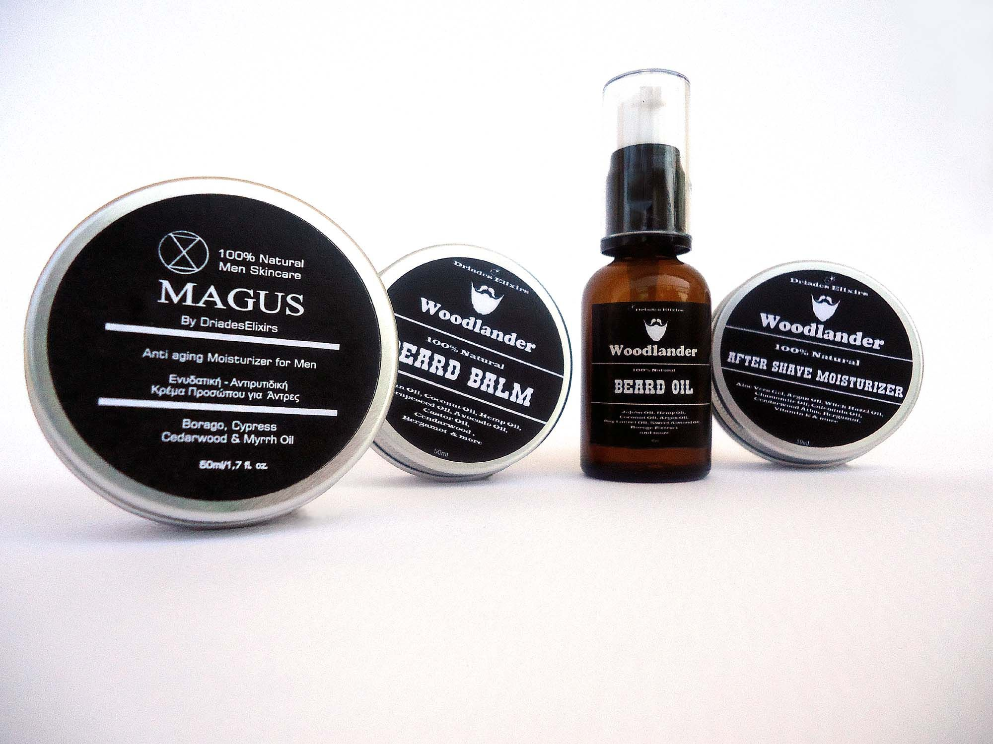 Luxury All Natural Skin Care Products For Men Zero Waste Non Toxic Face Moisturizer Beard Oil Beard Balm Natural Skin Care Herbal Skin Care Skin Care Gifts