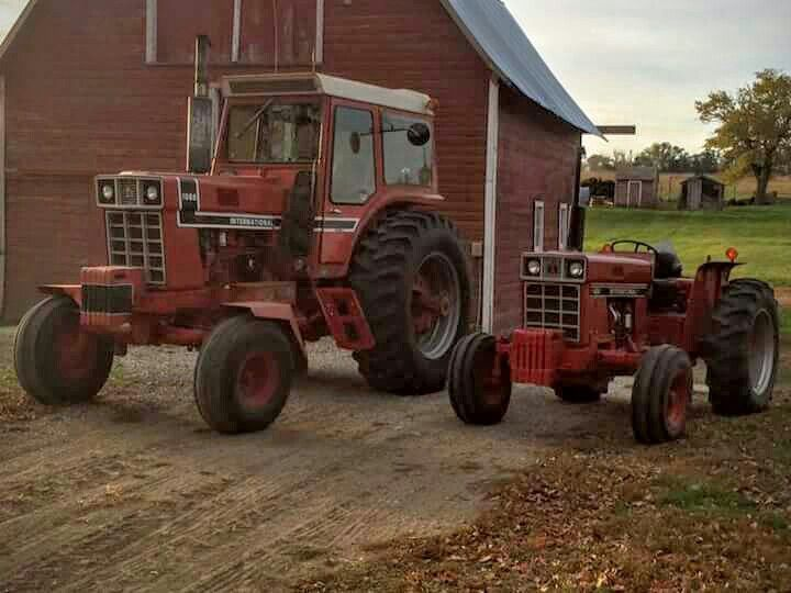 International 1066 Black Stripe : Ih black stripe international harvester