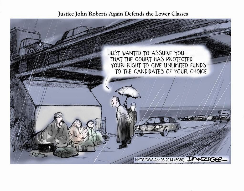Tweets for the Fourth Month Editorial cartoon, John