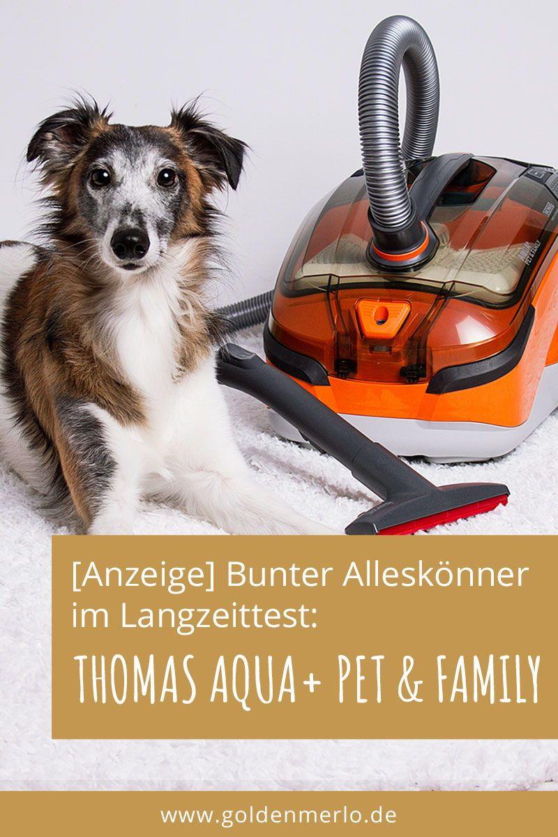 Anzeige Tierhaarstaubsauger Im Langzeittest Der Thomas Aqua Pet Family Hat Alles Was Einen Tierliebhaberstaubsauger Ausma Staubsauger Hundehaltung Hunde