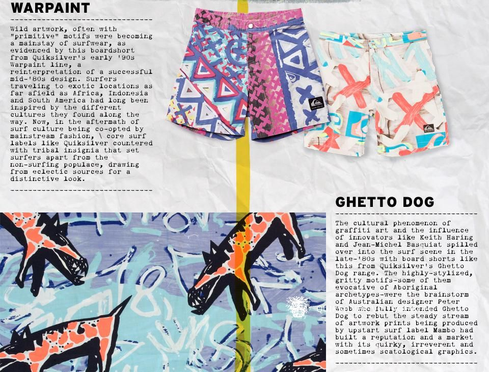 60365318fe Quiksilver Vintage fan website surfwear 80's - Warpaint and Ghetto Dog area