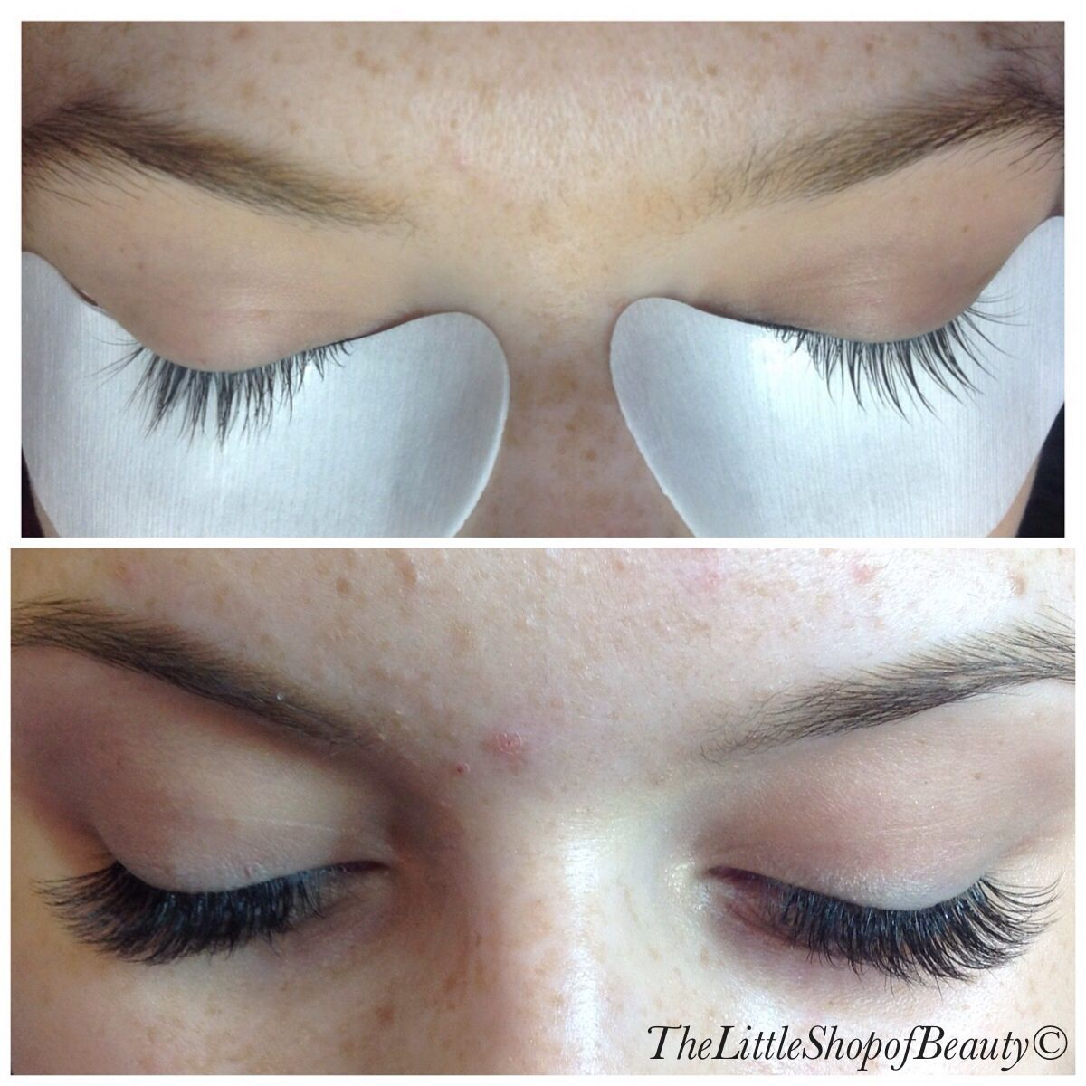 f1ba9a7ad59 Before and after light soft fluffy Russian volume lashes | lashes in ...