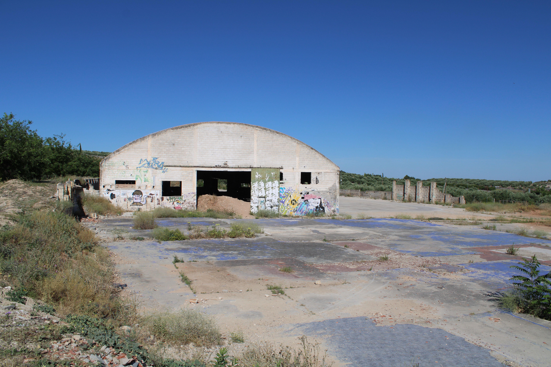 antiguos almacenes de la estación de ferrocarril de Martos