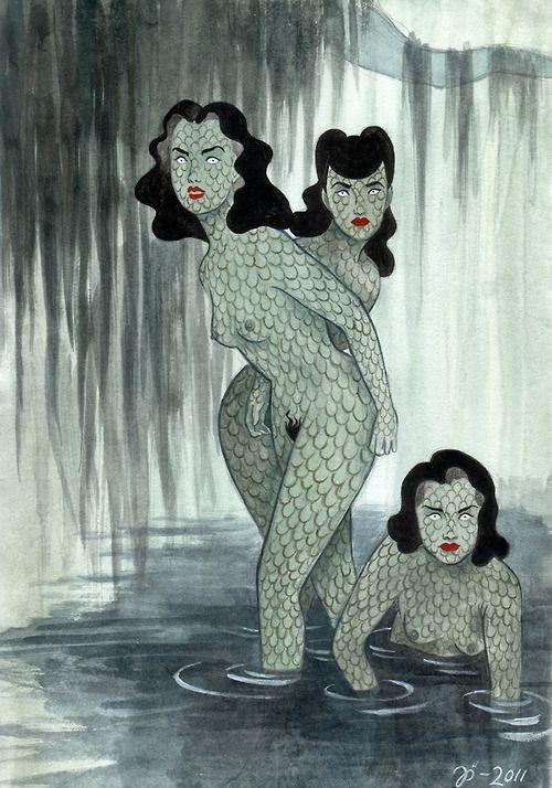 Swamp Girls by Johanna Ost