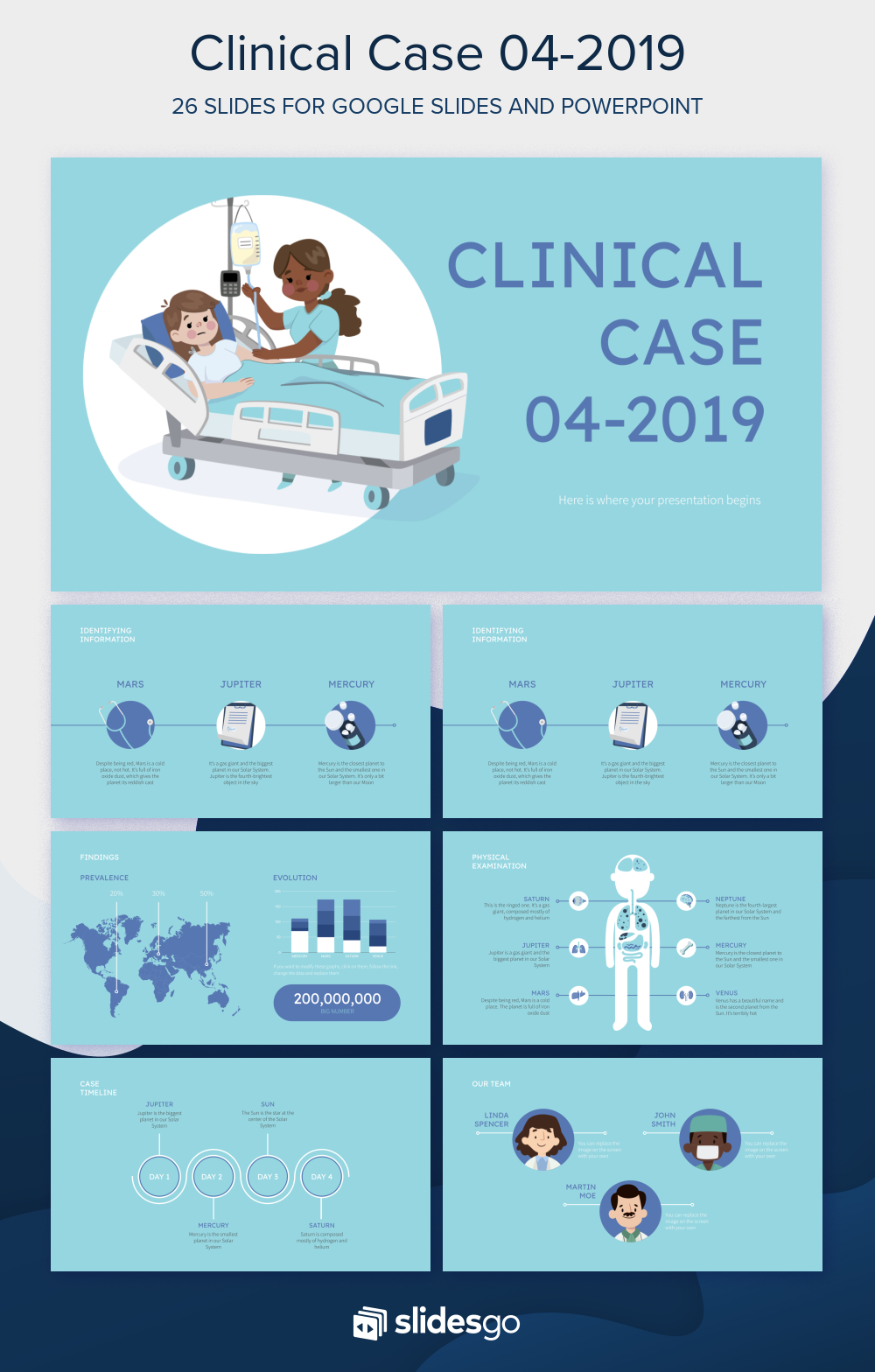 Clinical Case 042019 Presentation Free Google Slides