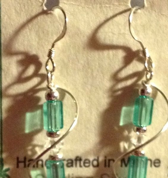 ****Handcrafted Sterling Silver Earrings***