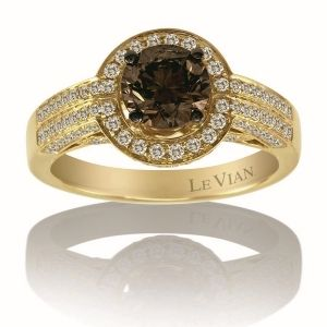 Find the ring that you love - with LeVian's chocolate and vanilla diamonds!