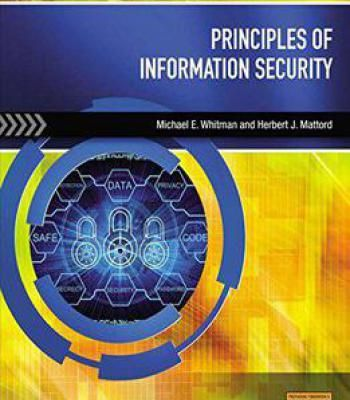 Principles Of Information Security 5th Edition Pdf Books Library Land 기술