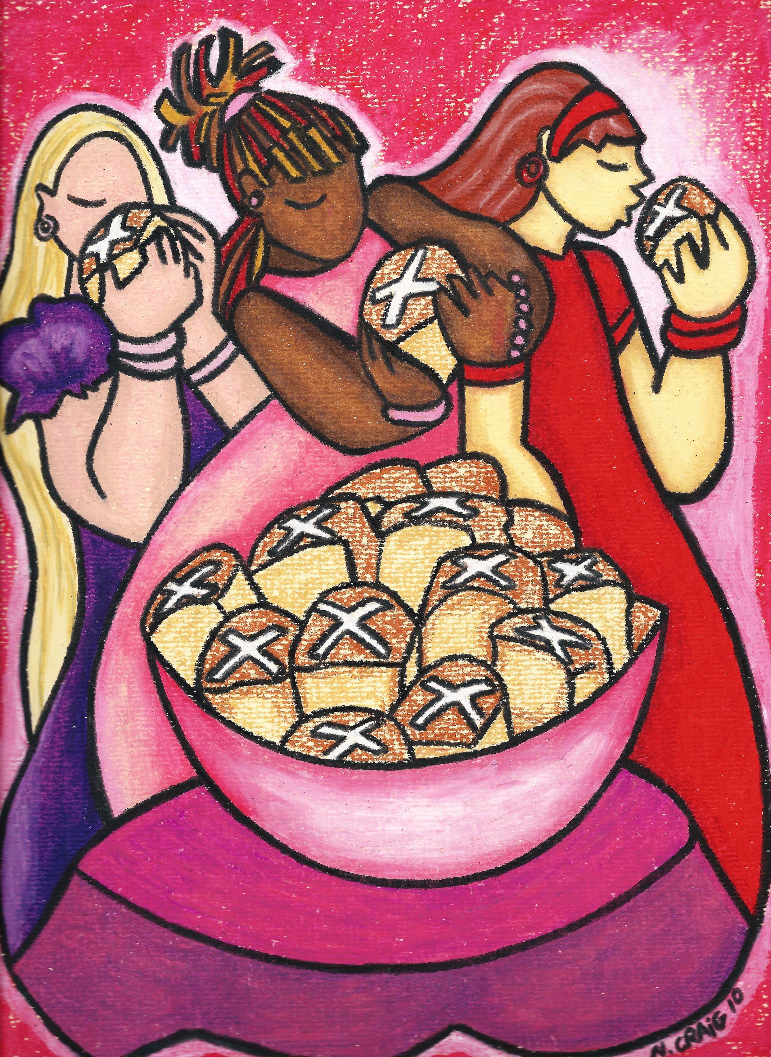 hot cross buns  hot cross buns island girl caribbean