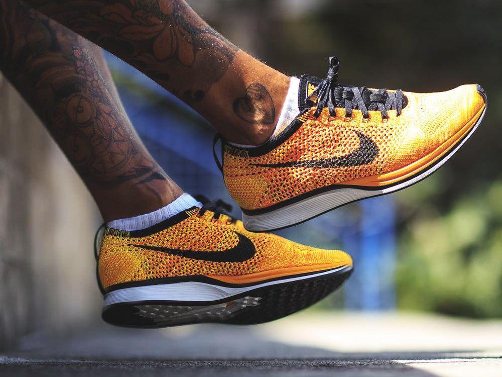 c9d47ada57b59 Nike Flyknit Racer - Yellow Black - 2013 (by trimstupidino)