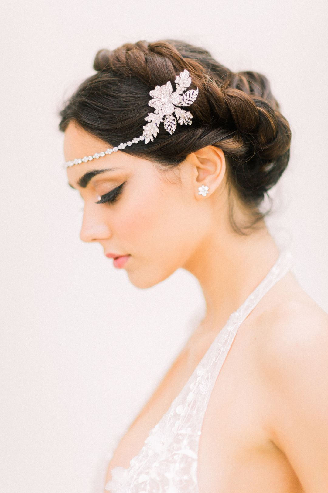 hair accessory: ivory & co | hair and make-up: victoria