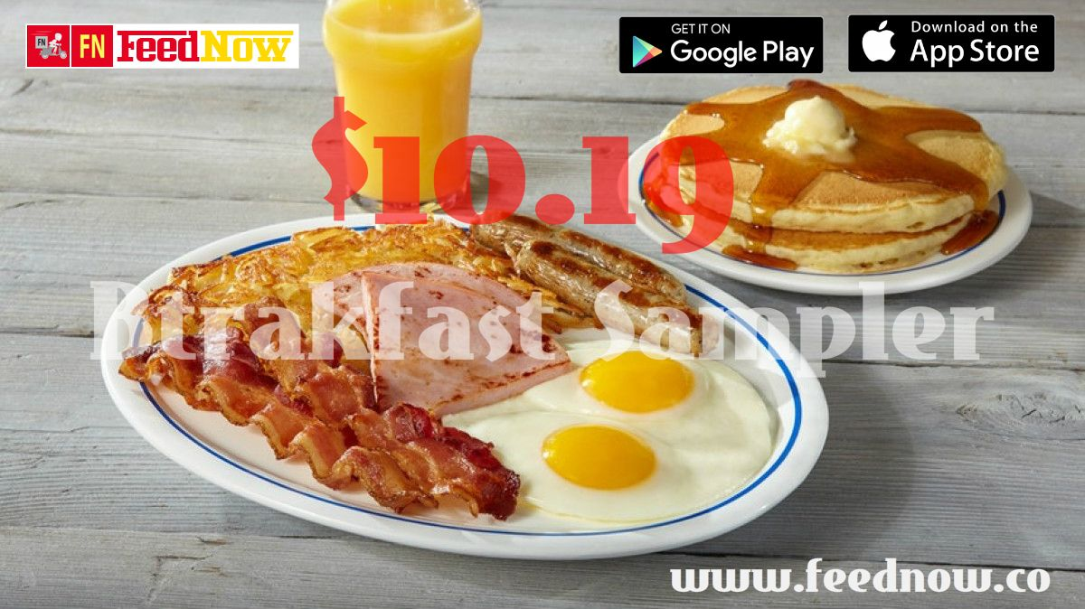 In mood for a sumptuous breakfast how about splurging on