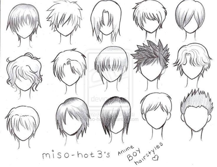 Incredible 1000 Images About Manga Capelli On Pinterest Anime Hair Manga Short Hairstyles For Black Women Fulllsitofus