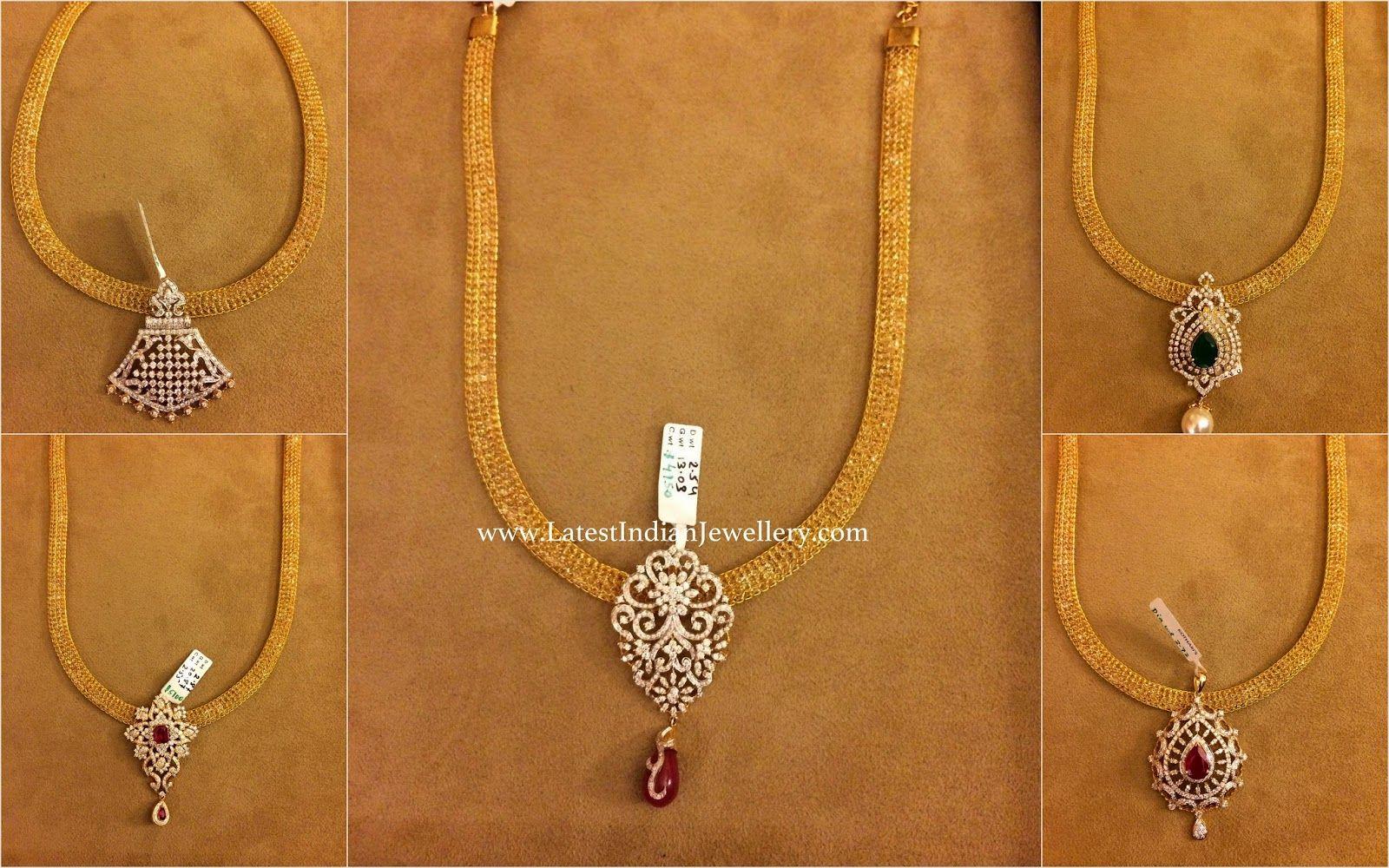 Collection of Latest Diamond Pendant Designs | Diamond pendant ...
