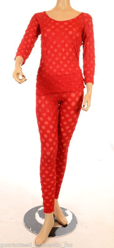 SPOTTY DOTTY RED NET LEGGINGS- FAB FOR LAYERING sze 1 | eBay