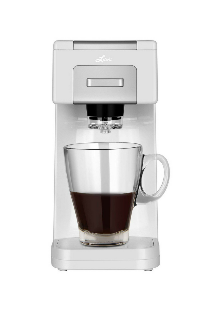 Litchi Single Serve Coffee Maker For Most Single Cup Pods Including