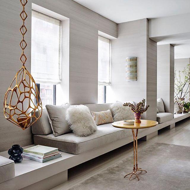 Kellybehunstudio Met Afbeeldingen Huis Interieur Interieur Woonkamer Erker Inrichten