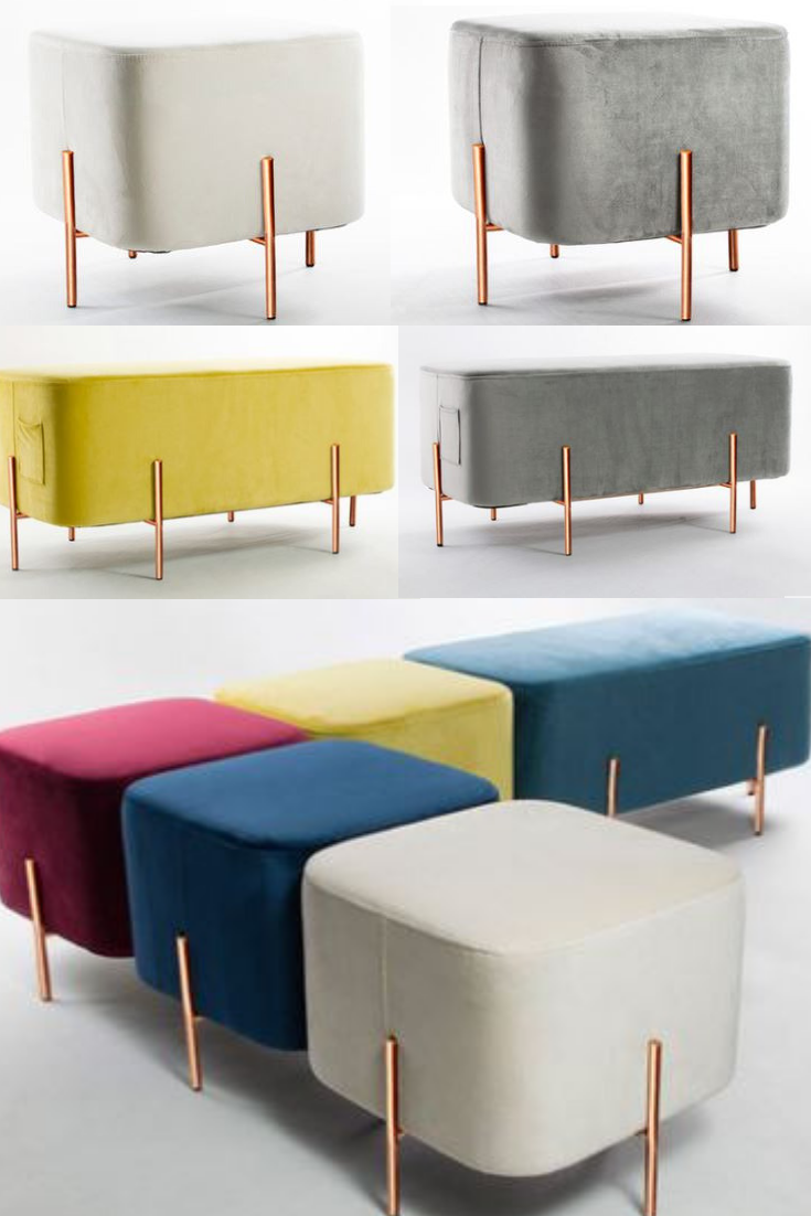 Modern Sofa Bench Fabric Stool Stools are available on ...