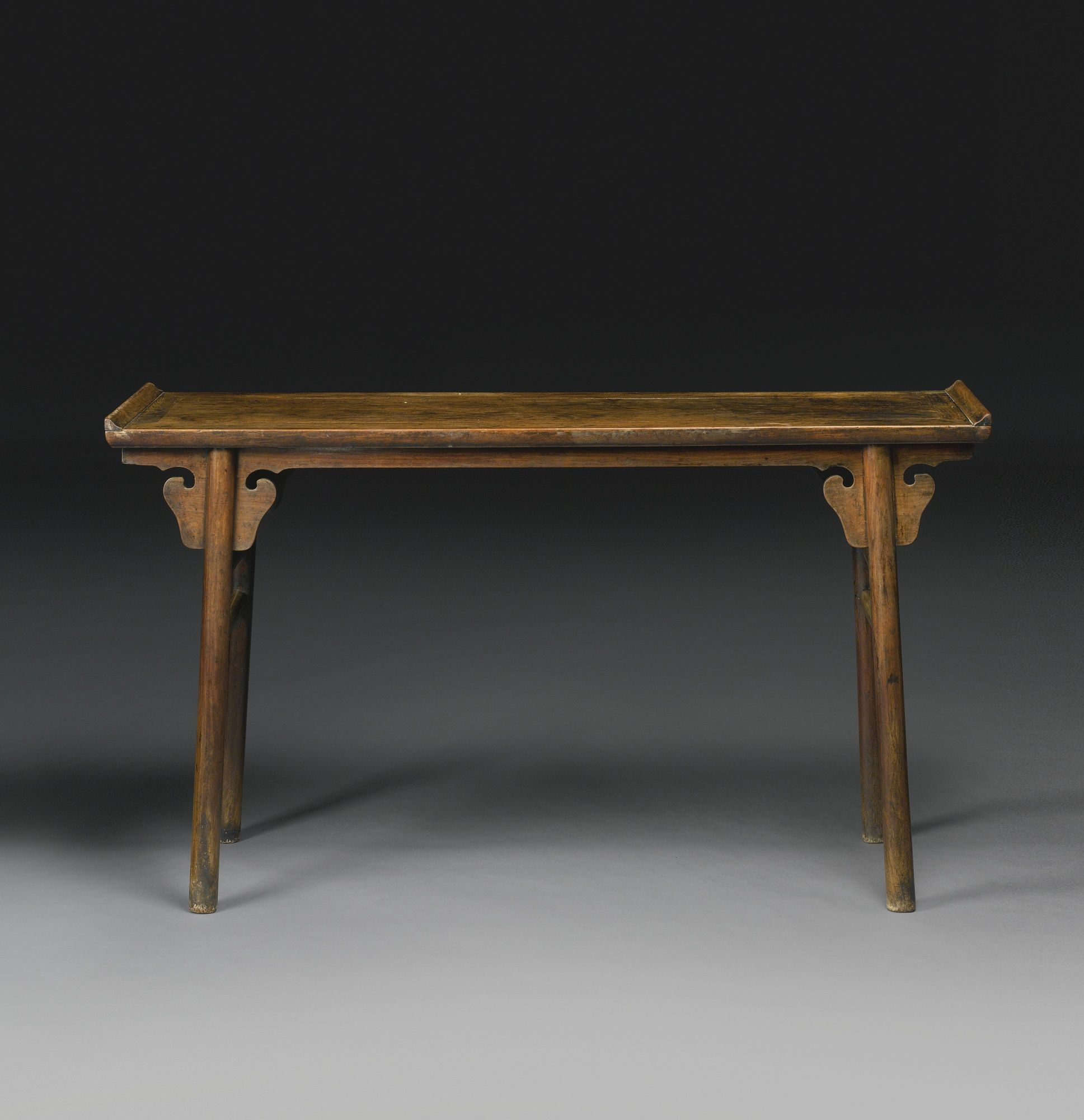A Huanghuali Recessed Leg Table (qiaotouan), Ming Dynasty China, 16th