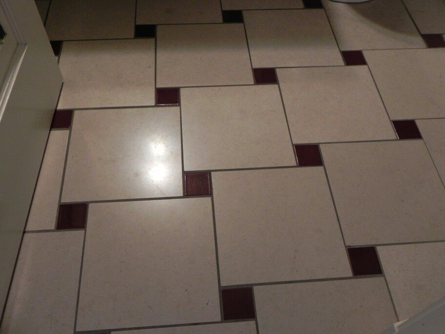 Old Faithful Inn A Simple Yet Creative Way To Create A Modified Houndstooth Tile Floor Pattern