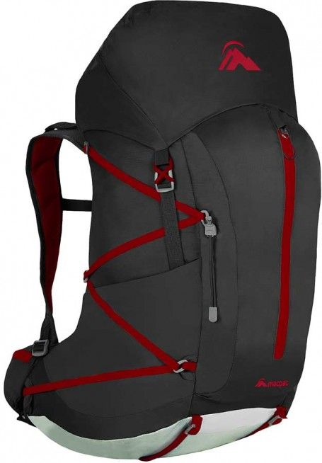 349b697b4808 Macpac Tasman 45 pack. Extremely lightweight for the carrying capacity. The  curved AirStream harness is different to most packs but definitely helps  keep ...