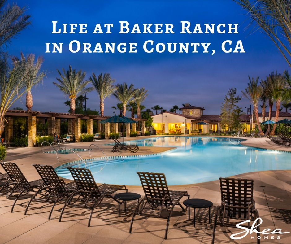 Life at Baker Ranch in Orange County