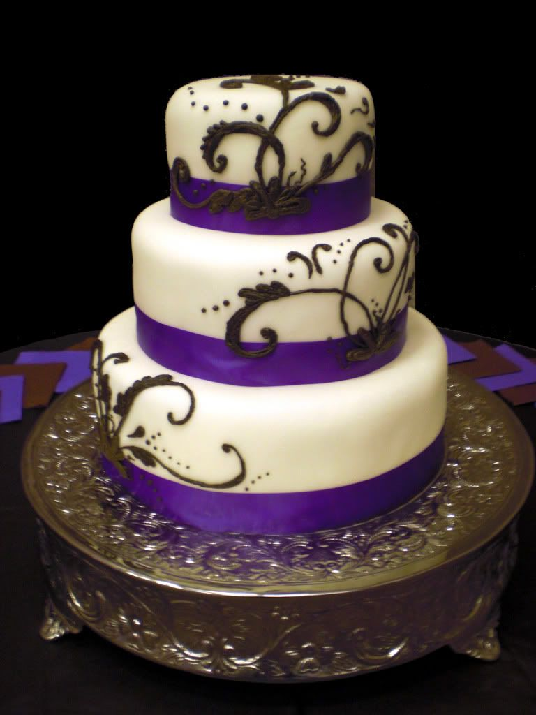 Gothic Wedding Cakes